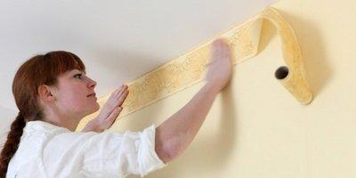 Tips to hang wallpaper